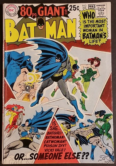 Batman (1940) #208 FN/VF