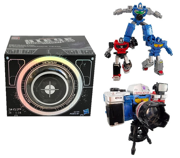 Transformers Siege Deluxe Refraktor Reconnaissance Team 3 pack