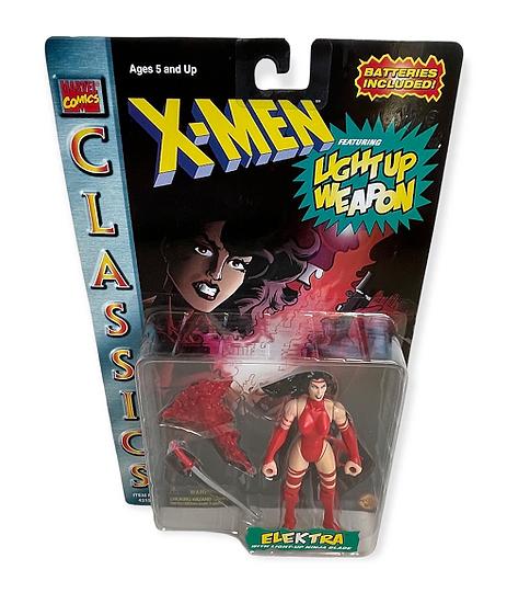 1996 Marvel Comics Classics X-Men Elektra With Light-Up Ninja Blade