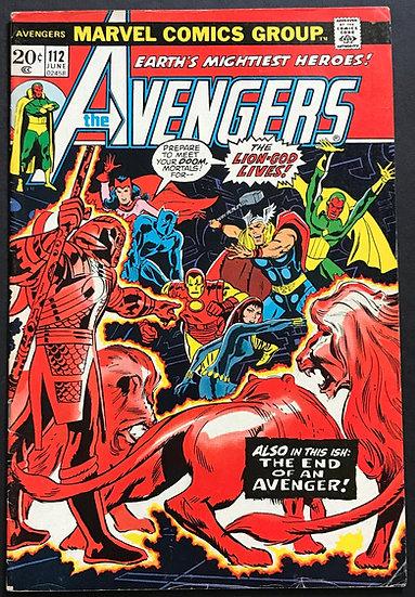 Avengers (Marvel ) #112 VG/FN [Center Fold Loose Bottom Staple]