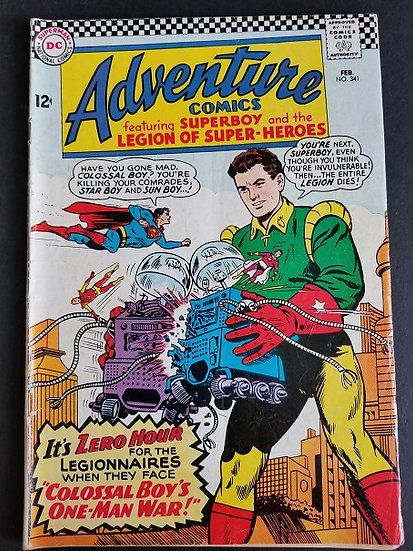 Adventure Comics (1938 1st Series) #341 VG