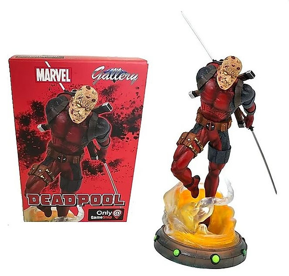 Marvel Gallery Unmasked Deadpool Exclusive 9-Inch PVC Figure Statue  Exclusive