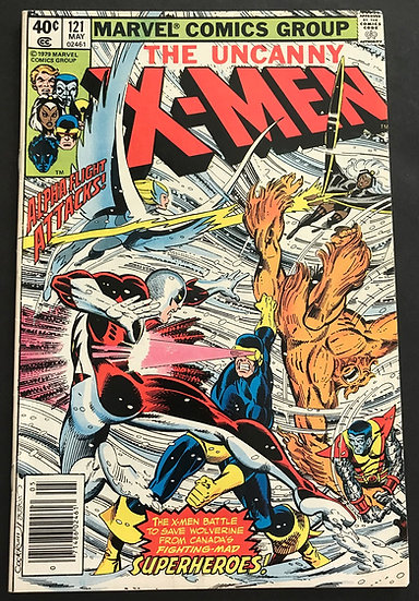 X-Men (1963 1st Series) #121 VF+