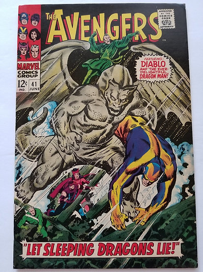 Avengers (1963 1st Series) #41 VF-
