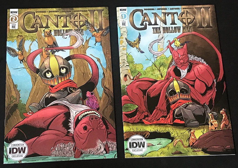 Canto II Hollow Men#1/#2 (IDW) Set of 2 [NYCC Exclusive Variant]