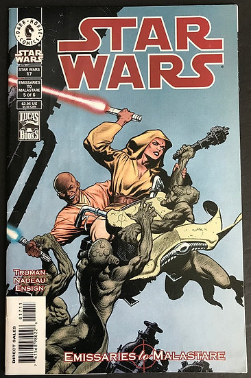 Star Wars (Dark Horse 1st Series) #17 FN