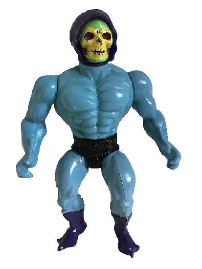 1981 Vintage MOTU Skeletor Soft Head By Mattel [No Armor, Weapon]