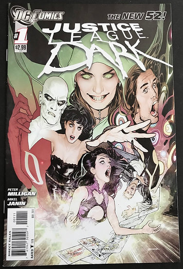 Justice League Dark (2011) #1 VF/NM [FIRST PRINTING In The Dark]