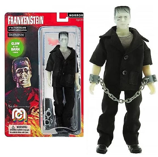 "Frankenstein Glow In The Dark Horror Classic 8"" MEGO Action Figure"