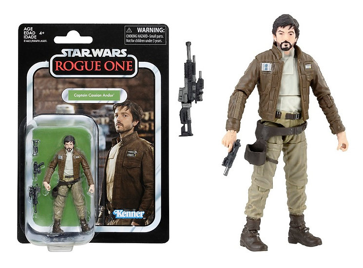 Star Wars The Vintage Collection Captain Cassian Andor Figure