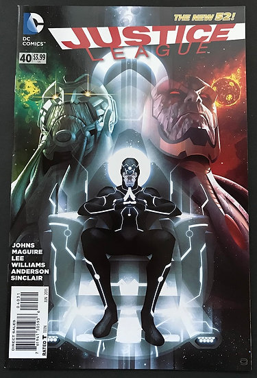 Justice League (2011) #40 Garner Variant NM