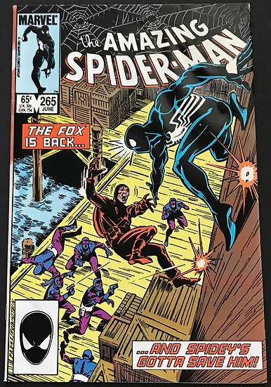 Amazing Spider-Man (Marvel) #265 VG [1st appearance of Silver Sable.]