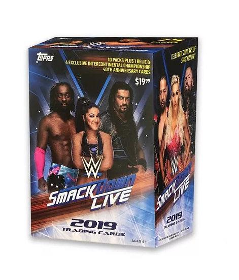 2019 WWE Smackdown Wrestling Trading Card Blaster Box [Walmart Exclusive]