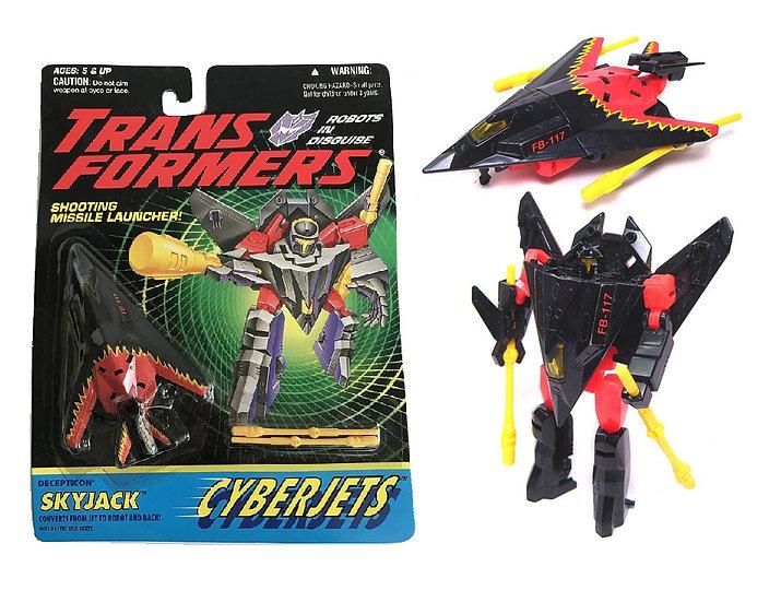 1994 Transformers Crberjets Skyjack Figure
