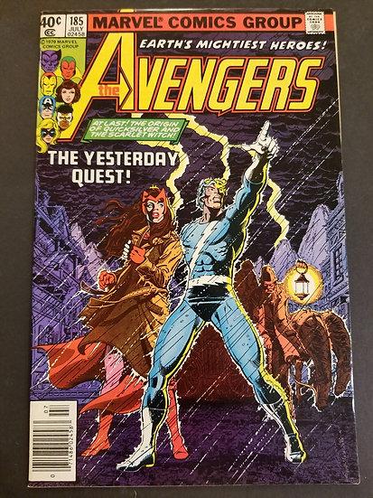 Avengers (1963 1st Series) #185 NM-