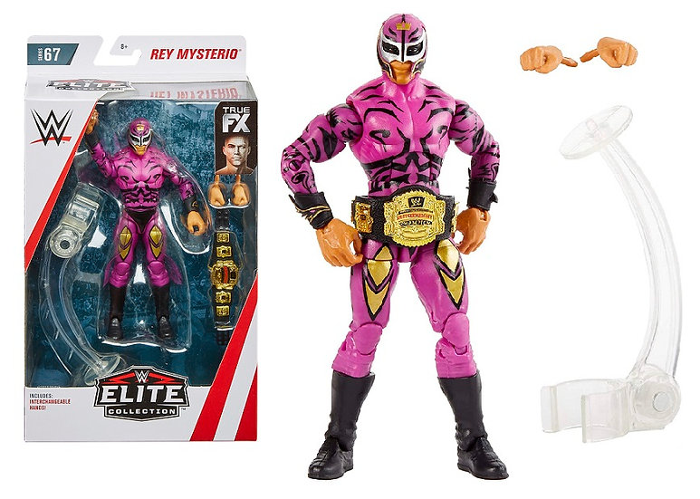 WWE Elite Collection Series 67 Rey Mysterio Wrestling Figure