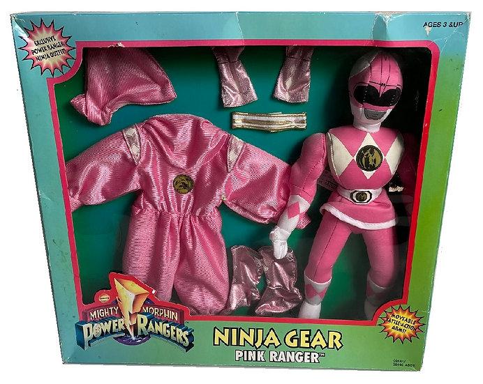 1995 Mighty Morphin Power Rangers PinkRanger Ninja Gear Sets