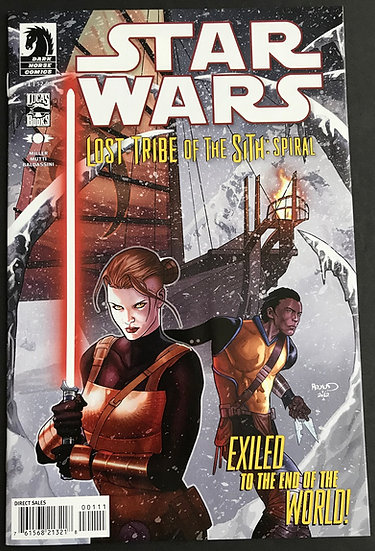Star Wars Lost Tribe of the Sith (2012) #1