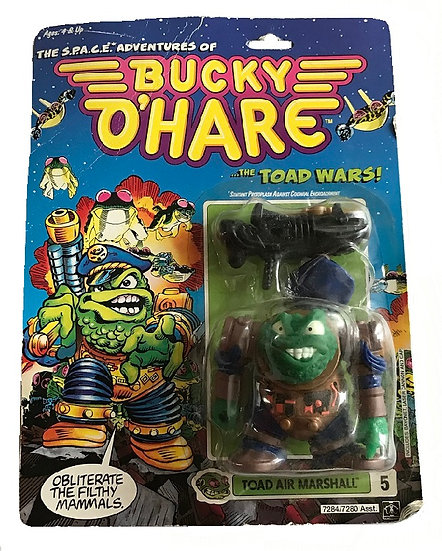 1990 Bucky O'Hare Toad Air Marshall #5 By Hasbro