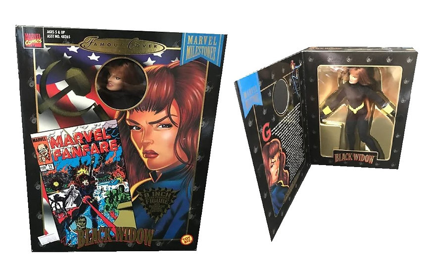 1998 Marvel Comics Famous Cover Series 8 Inch Tall  Black Widow