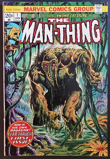 Man-Thing (1974 1st Series) #1  FN/VF 1st Man-Thing titled series]