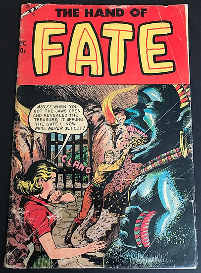 Hand of Fate (1951 Ace) #21 GD/VG