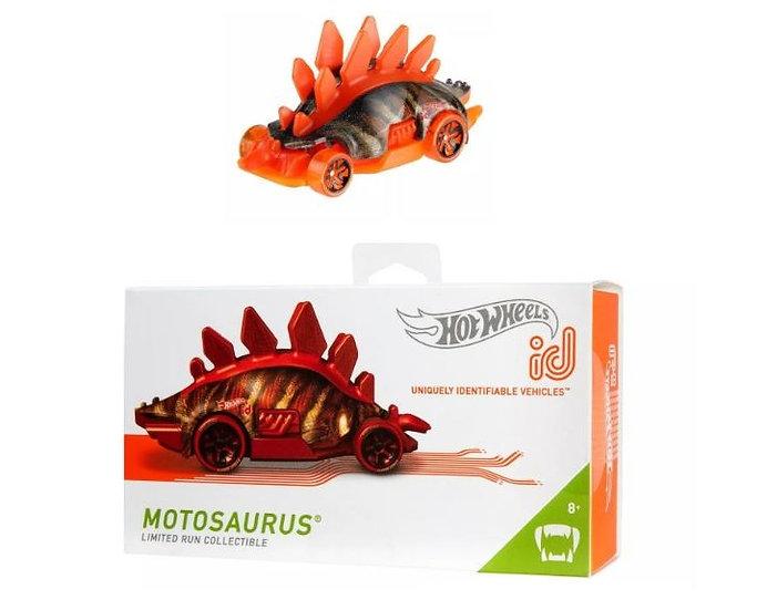 Hot Wheels ID Motosaurus Limited Run Collectible Die-Cast