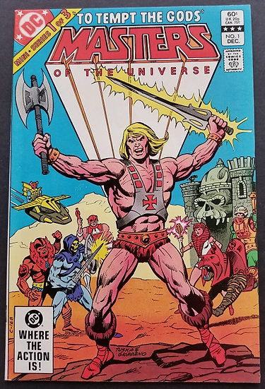 Masters Of The Universe NM-. Mini Series.