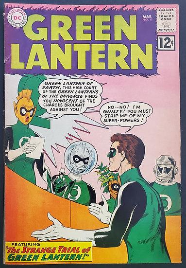 Green Lantern 11 FN-