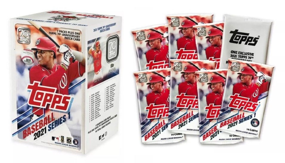 2021 Topps MLB S1 Baseball Trading Card Blaster Box [Exclusive]