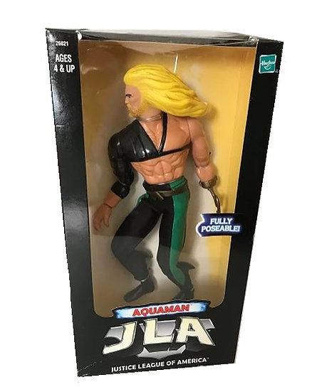 1998 Vintage Aquaman JLA Justice League of America 12 Inch  Poseable Figure