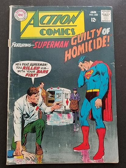 Action Comics #358 VG