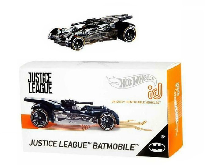 Hot Wheels ID Justice League Batmobile Limited Run Collectible Die-Cast