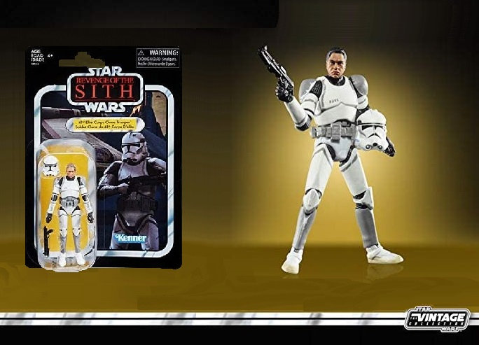 Star Wars The Vintage Collection Elite Clone Trooper Figure [Exclusive]