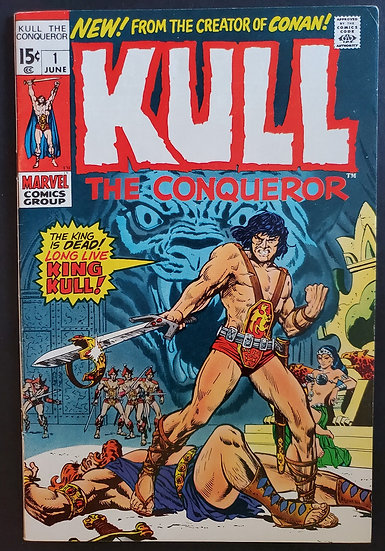 Kull the Conqueror (1971 1st Series) #1 VF+