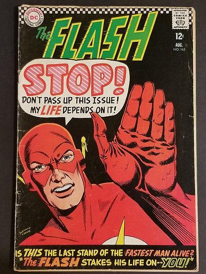 Flash (1959 1st Series DC) #163 GD [Detach Pgs.]