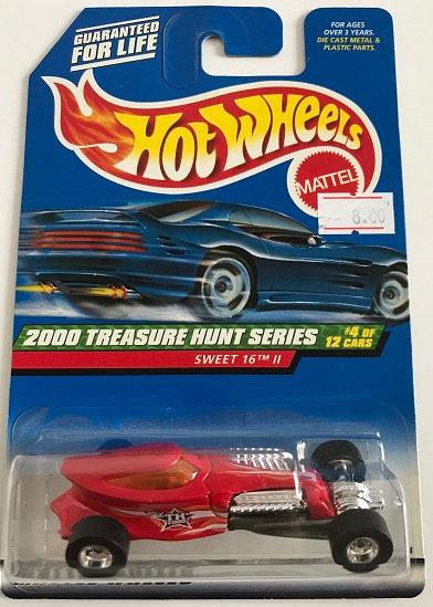 Hot Wheels Treasure Hunts 2000 Sweet 16 ll - 4/12 New Sealed