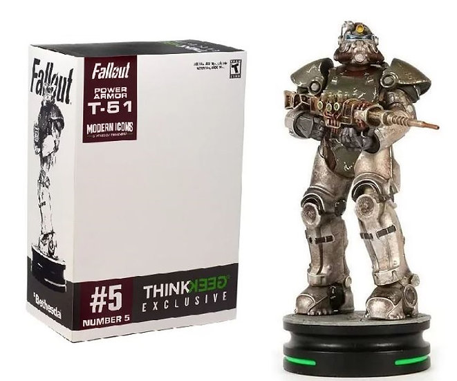 Fall Out Power Armor T-51Mmodernicons Statues By Thinkgeek