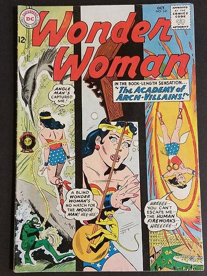 Wonder Woman (1942 1st Series DC) #141 FN