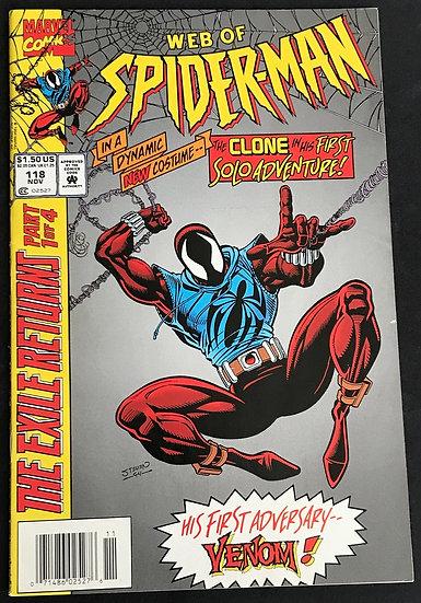 Web of Spider-Man (Marvel) #118 VF