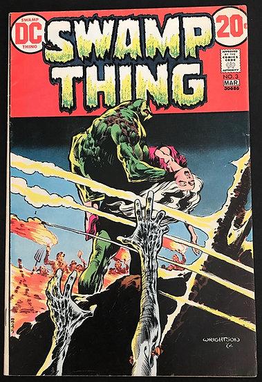 Swamp Thing (1972 1st Series) #3 FN+