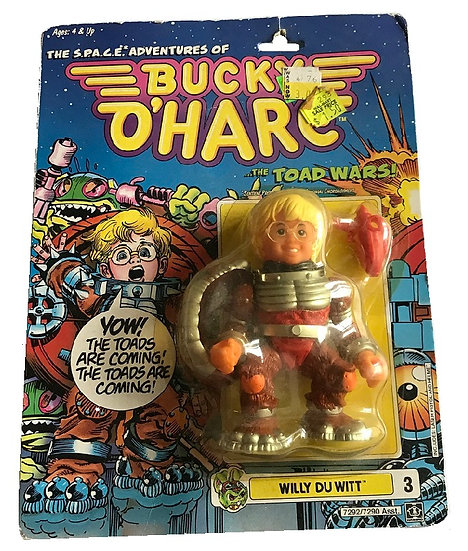 1990 Bucky O'Hare Willy Du Witt #3 By Hasbro