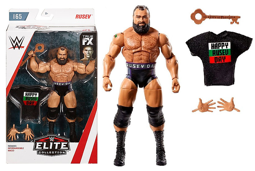 WWE Elite Collection Series 65 Rusev Wrestling Figure