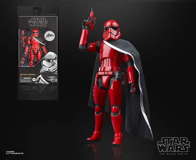 Star Wars The Black Series Captain Cardinal Collectible Figure