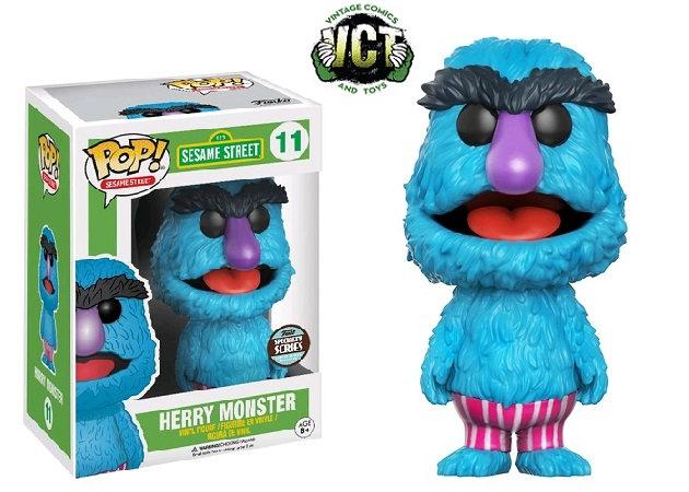 Funko Pop Sesame Street Herry Monster 11 Funko Specialty Series