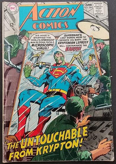 Action Comics #364 VG