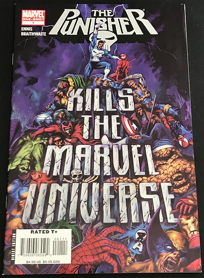 Punisher Kills the Marvel Universe (Marvel) #1 NM [2008 Edition]