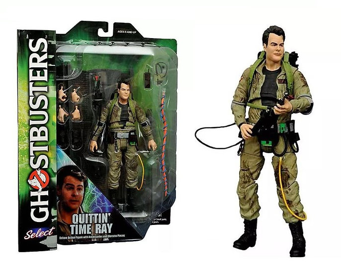 Ghostbusters Diamond Select Toys Quittin Time Ray Action Figure