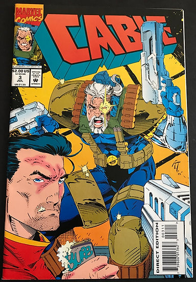 Cable (1993 1st Series) #3 NM+