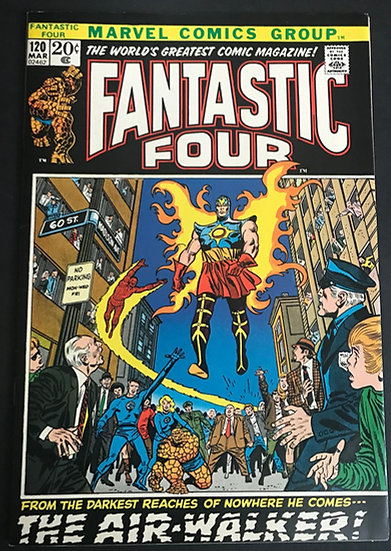 Fantastic Four (1961 1st Series) #120 VF/NM [1st Appearance of Gabriel]